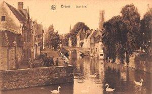 Quai Vert Bruges Belgium Unused