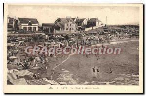 Postcard Old Batz The high tide Beach