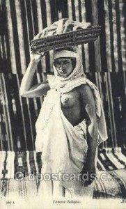 Femme Kabyle Arab Nude Unused