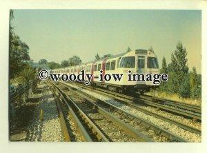 ry1126 - London Underground - 1972 Mark 2 Tube Stock on Jubilee Line - postcard