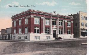 BARTLESVILLE , Oklahoma , 1917s ; Elks Home
