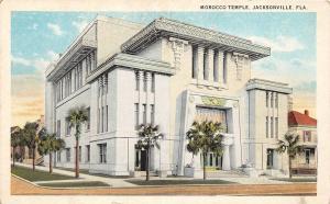 B89/ Jacksonville Florida Fl Postcard c1910 Morocco Temple Building