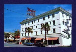 FL Tropicana Motel Hotel ST PETERSBURG FLORIDA POSTCARD