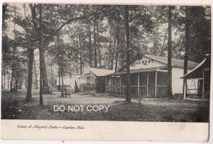 Camp at Meyers Lake, Canton Ohio