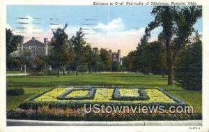 Oval, University of Oklahoma Norman OK 1944