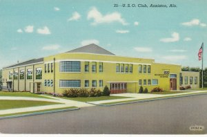 ANNISTON ,  Alabama, 1930-1940's; U.S.O. Club