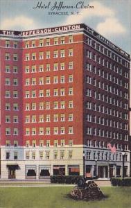 New York Syracuse Hotel Jefferson Clinton 1949
