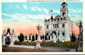 New Jersey Atlantic City Captain Young's Residence On Million Dollar Pier