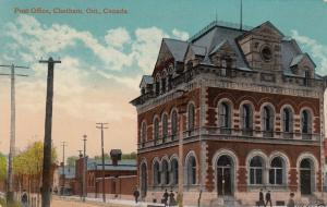 CHATHAM , Ontario , Canada , 1916 ; Post Office