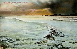 MA - Lynn. Lynn Beach after a Storm