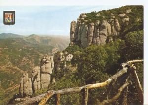 Postal 050265 : Montserrat. Cruz de S. Miguel desde el Camping