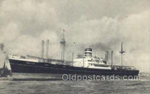 SS Soestdijk Holland - America Line, Steamer, Steam Boat, Ship Ships, Postcar...