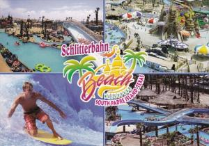 Texas South Padre Island Schliiterbahn Beach Waterpark Multi View