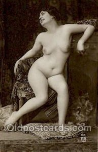 Nude Non Postcard backing Unused light corner wear