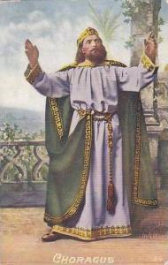 Religious Figure Choragus Conductor Of The Chorus
