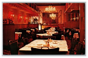 Danny's Cuisine For The Gourmet Baltimore MD Vintage Standard View Postcard
