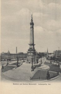 INDIANAPOLIS , Indiana , 1901-07 ; Soldiers & Sailors Monument