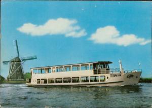Motorship Avifauna I boat ship shipping wind mill