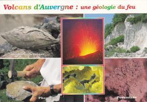 ITALY, 1950-1970's; Volcans D'Auvergne: Une Geologie Du Feu, Bombe Volcanique...