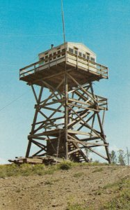 Bull Lookout Tower, Williams Lake , B.C. , Canada , 1950-60s ; B.C. Forest Se...