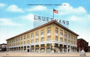 Wisconsin Marinette The Lauerman Building