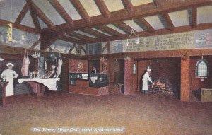 SPOKANE, Washington, 1900-1910´s; Fire Place, Silver Grill, Hotel Spokane