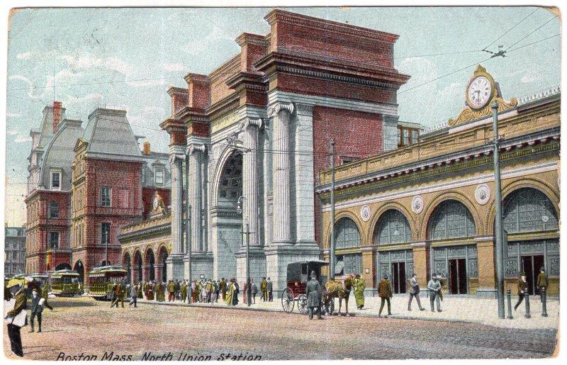 Boston, Mass, North Union Station