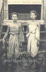 Jeunes Femmes Cambodge, Phnom, Penh Cambodia, Cambodge Unused