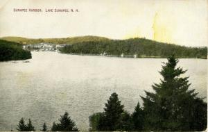 NH - Lake Sunapee. Sunapee Harbor