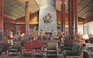 Lounge,  Jasper Park Lodge,  Jasper,  Alberta,  Canada,   40-60s