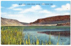 Blue Lake, Lower, Grand Coulee Dam WA