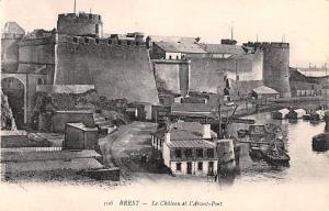 Brest France Le Chateau et l'Avant Port Brest Le Chateau et l'Avant Port
