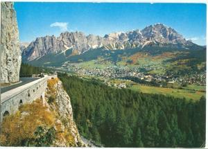 Italy, Dolomiti, Cortina, Pomagagnon, 1976 used Postcard