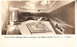 Japan - Tokyo Fujiya Hotel, Mermaid Bath - Real Photo