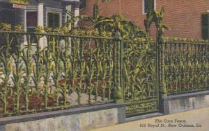Louisiana New Orleans The Corn Fence 915 Royal Street Curteich