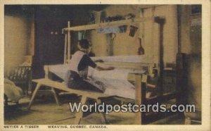 Metier a Ttisser, Weaving Quebec Canada Unused