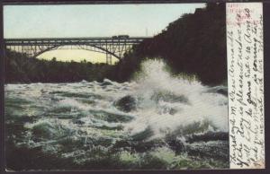 Whirlpool Rapids,Niagara Falls,NY Postcard