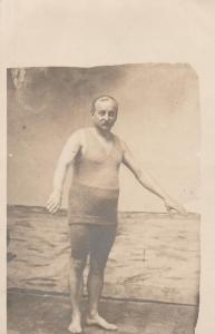RPPC Best Dressed Swimmer in the early 1900's