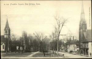 New Britain CT Frankling Square Rotograph A7109 c1905 Postcard