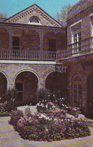 Alabama Mobile Court Yard At Bellingrath Gardens