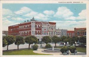Fountain Square, Somerset,  Kentucky, PU-1936
