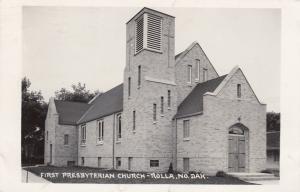 RP: ROLLA , North Dakota , 1st Presbyterian Church , PU-1955