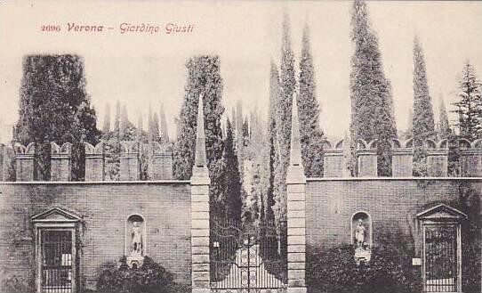 Italy Verona Giardino Giusti