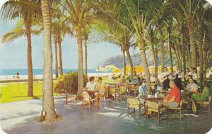 Hotel Pierre Marques, Acapulce, Bar Tortuga, Mexico, 40-60s