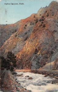 USA Utah Ogden Canyon 1912