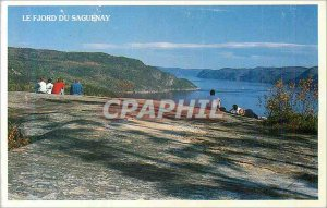 Modern Postcard The Saguenay Fjord Landscape of Mysteries and the Unknown Fjo...
