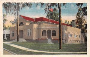 WINTERHAVEN FLORIDA WOMEN'S CIVIC LEAGUE POSTCARD c1926