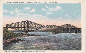 Quebec Bridge Quebec Canada