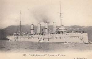WARSHIP , France , 00-10s ; Le Chateaurenault , Croiseur de 1st classe