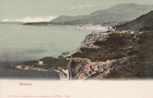 Panorama, MENTON (Alpes Maritimes), France, 1900-1910s